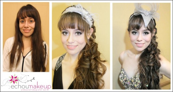 fashion bridal show make-up & hair by grace&elaine