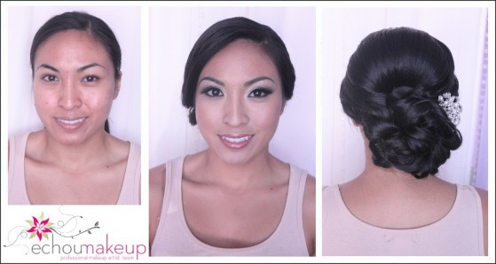 make-up & hair preview:Corinne