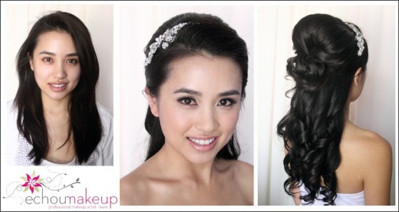 make-up & hair trial : cindy1