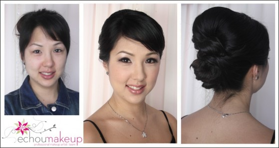 wedding makeup & hair trialLisa
