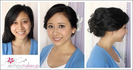 wedding makeup & hair trial vanessa