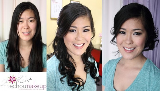 wedding trial before and after Julie