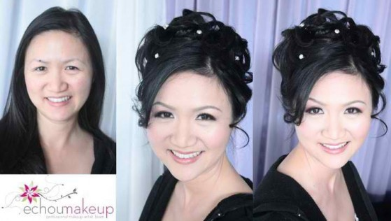 wedding trial - before&after makeup17