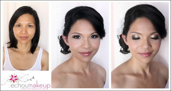 weddingmake-up & hair tria : Catherine